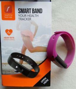 Heart Rate Smart Band Tracker pink Fitness Bracelet
