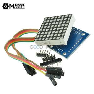 MAX7219-dot-matrix-module-Arduino-microcontroller-module-control-Display-DIY-GM