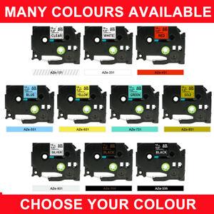 TZe231-131-631-731-Label-tape-Compatible-Brother-P-Touch-TZ-9-12-18-mm-mix-color