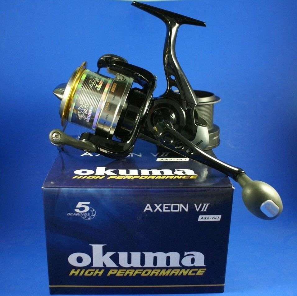 OKUMA axeon VII AXII60 CARP FISHING REEL
