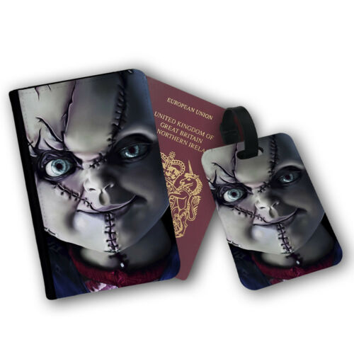 Chucky Curse Child/'s Play Horror Movie Haloween Protection Flip Cover Case