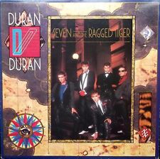 DURAN DURAN Seven And The Ragged Tiger LP Lyric Inner EMC 1654541 1983