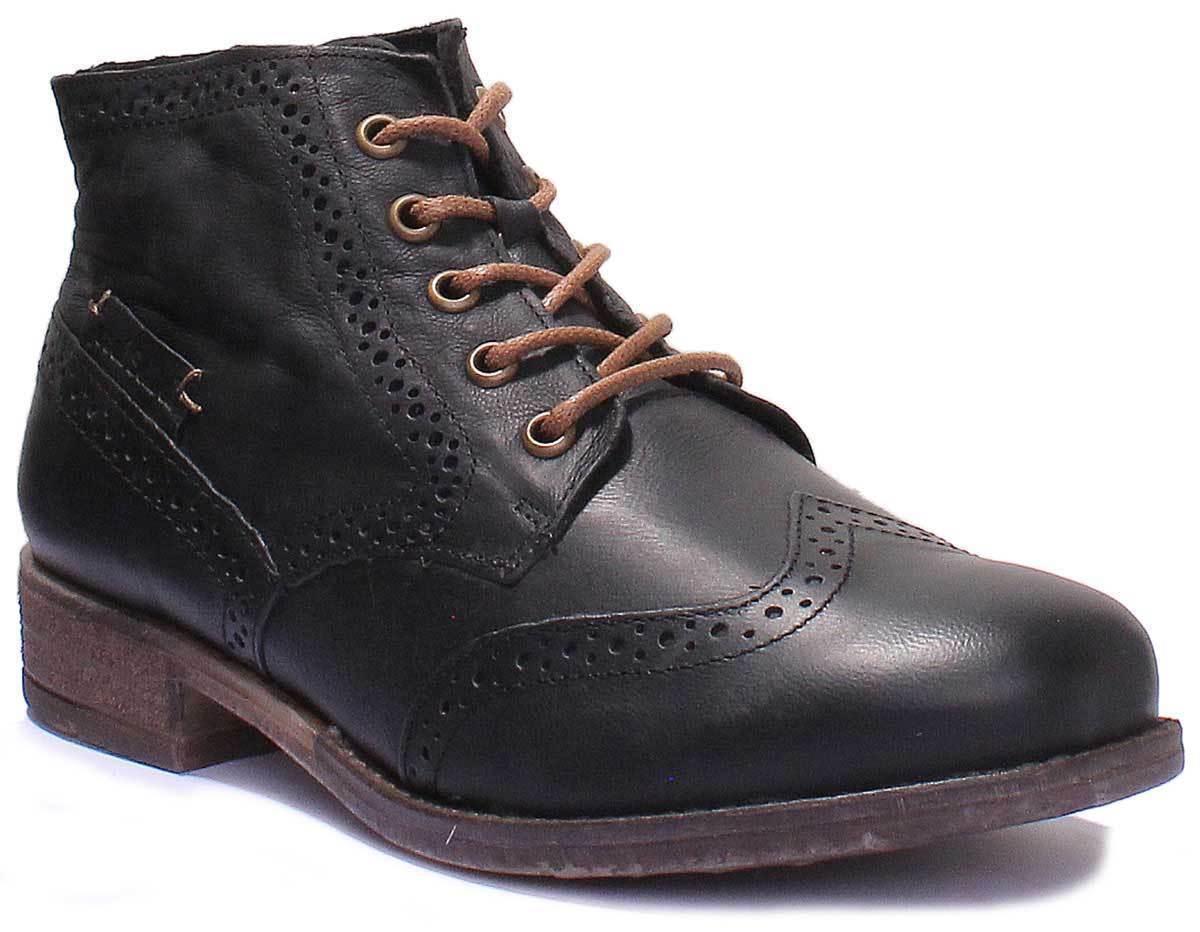 Josef Seibel Sienna 15 kvinnor läder Matt Ankle stövlar stövlar stövlar Storlek UK 3 - 8  wholesape billig