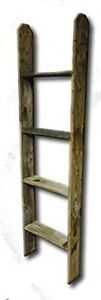 Display-Ladder-Barnwood-Reclaimed-Weathered-Wood-Rustic-Primitive-Home-Decor