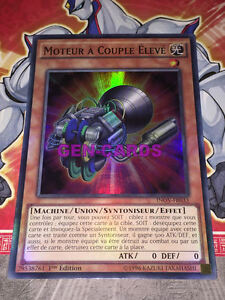 Carte Yu Gi Oh MOTEUR A COUPLE ELEVE INOV-FR033