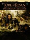 The Lord of The Rings Instrumental Solos for Violin Howard Shore 0757923291
