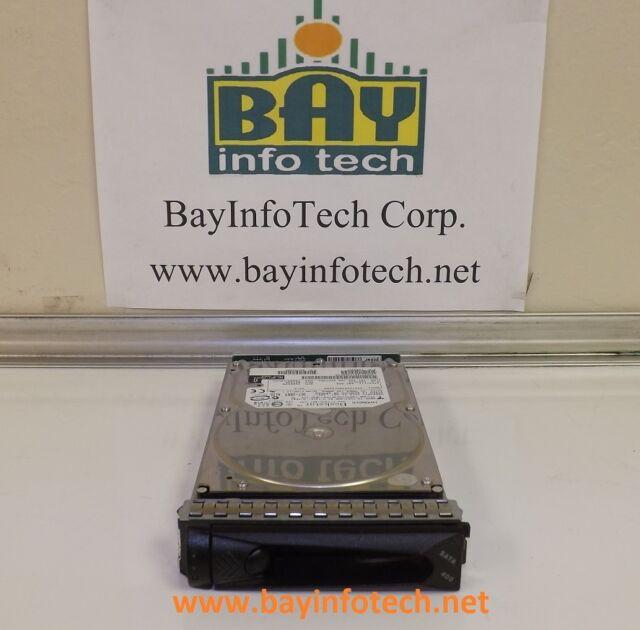 HDS724040KLSA80 Hitachi Deskstar 400GB SATA 7200 RPM Hard Drive W/Tray FC Adapte