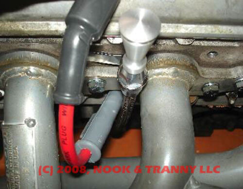 LS1 LS2 LS6 LS3 LQ4 LQ9 Braided Flexible Engine Swap Oil Dipstick and Tube