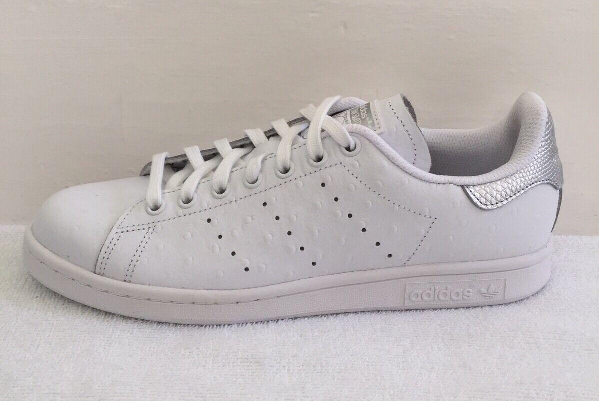 Adidas Stan 8.5 Smith Metallic Leder Größe 8.5 Stan (uk) BNIB 5c4b92