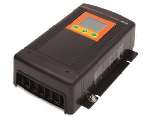 ABSO DMT-1250 12V DC 50amp BATTERY to BATTERY CHARGER + OFF GRID SOLAR MPPT