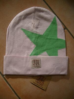 (p14) Finemente Lavorato A Maglia Berretto Freaky Testa Beanie Inverno Berretto Boyfriend Big Star + Logo-mostra Il Titolo Originale