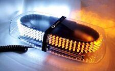Zone Tech 240 LED Emergency Hazard Warning Plow Truck Strobe Light Amber/White