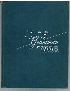 Grumman-At-War-15th-Anniversary-1945-1st-Ed-Rare-Vintage-Book