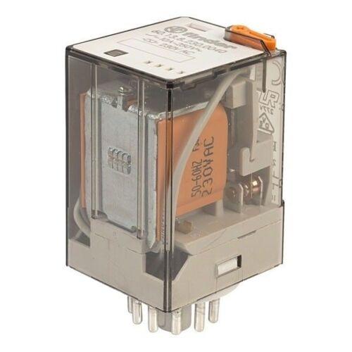 Finder 60.13.8.230.0040 230V Relay 3PDT AC 11-Pin