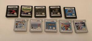 Nintendo 3DS & DS Game Lot 10, Rare Myst , Mario Party, Mortal Kombat + More