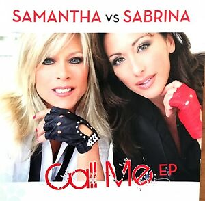 Samantha-vs-Sabrina-Maxi-CD-Call-Me-Germany-M-M