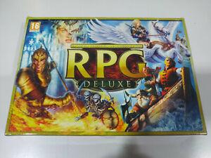 RPG Deluxe Seleccion Juegos de Rol Avencast Silverfall Drakensang 4 x DVD-Rom 5T