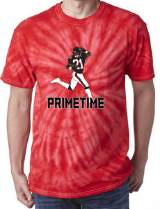 promo code 158c7 8be70 Details about Tie-Dye Deion Sanders Atlanta Falcons