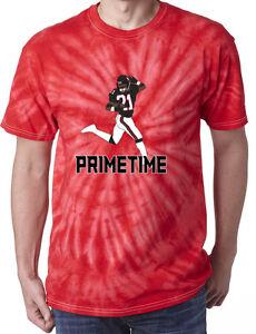 promo code 27e1d 6a536 Details about Tie-Dye Deion Sanders Atlanta Falcons