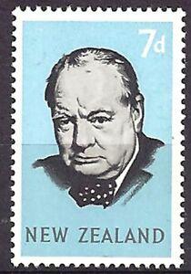 NUOVA-ZELANDA-NEW-ZEALAND-1965-W-CHURCHILL-History-Nobel-Stamp-Set-MNH
