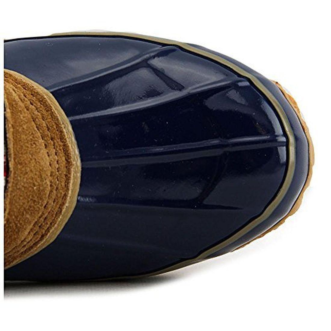 Khombu Jenna Navy Tan Boot Damens Größe 7 M