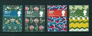 GB-QE-II-1982-British-Textiles-full-set-of-stamps-Mint-Sg-1192-1195
