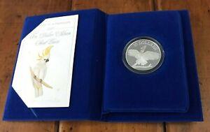 Royal Australian Mint $10 Cockatoo Silver Piedfort Coin 1990 RAM