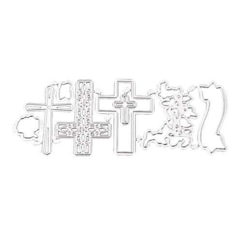 Metall Kreuz Weihnachten Stanzschablone Prägeschablone Stanzmaschine