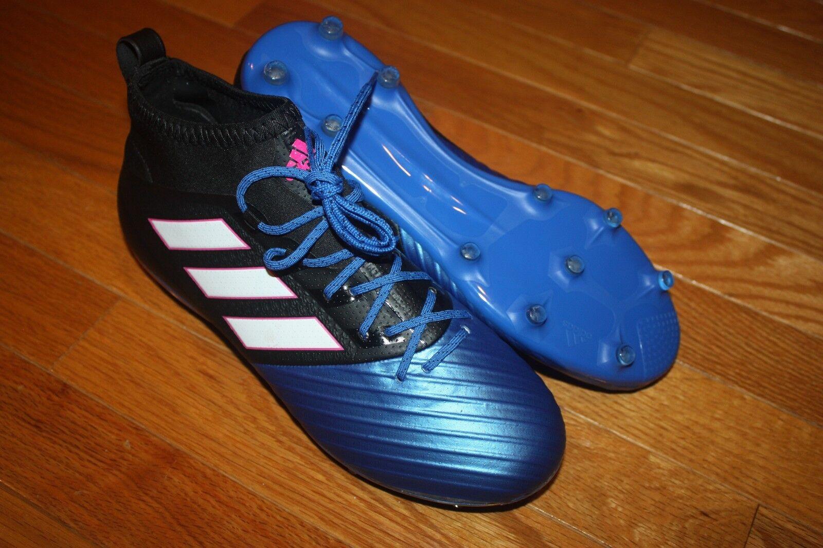 New in box männer adidas ace 17,2 primemesh fg / bb4325 blk / blau / fg weiß fußball - schuh dd73ec