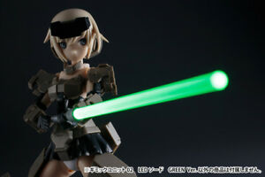 Kotobukiya-Gimmick-Unit-02-LED-Sword-Geen-Ver-MSG-Model-Figure-MG02-11cm-1-12