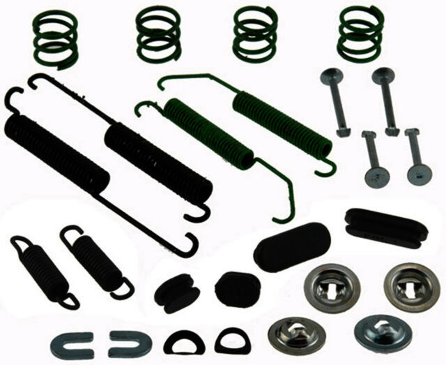 Retainers and Caps Pins ACDelco 18K580 Professional Rear Drum Brake Spring Kit with Springs Washers