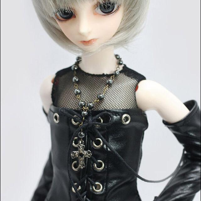 Dollmore 1/4 BJD Clothes MSD Size - Cat Party T (black) A1