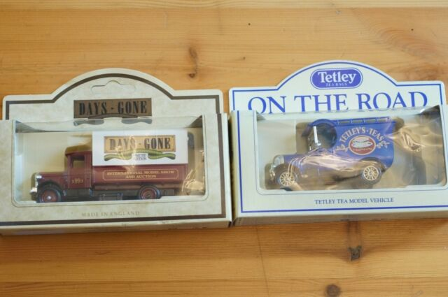Rare Models of DAYS GONE Limited Ed Van Int Model Show + Tetley Boxed MIB