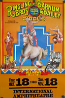 Vintage 1978 Ringling Bros And Barnum & Bailey Circus Poster 109th Year Rolled