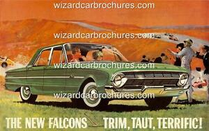 1962 XL FORD FALCON A3 POSTER AD ADVERT ADVERTISEMENT BROCHURE