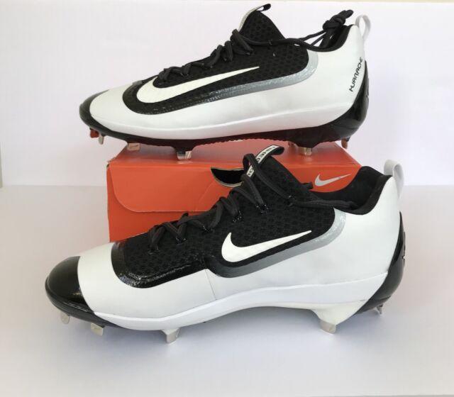new product bc0aa 42ac1 Nike Air Huarache 2k Filth Elite Low Metal Baseball Cleats Black Size 13
