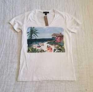 dipinta con Sims di a Kristen shirt mano T a scollo V vq6Ov5X8