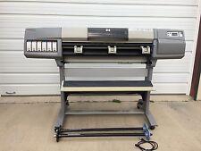 Hp Designjet 5000 42 Wide Color Plotter Inkjet Lf Jetdirect Card 10100 C6090z