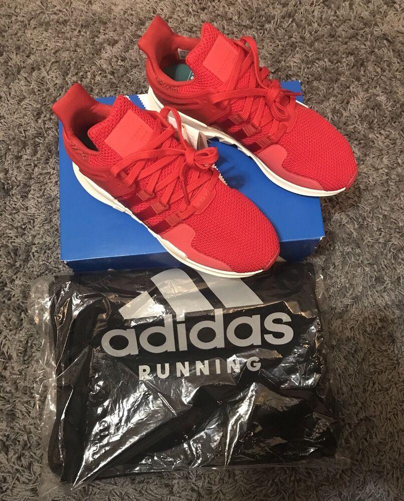 Adidas EQT Support ADV 91-16 Rouge  130 Gratuit Sac De Gym 9UK-