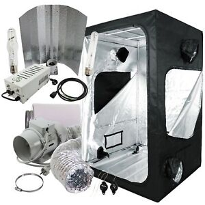 Komplettset-Grow-box-120x120x200cm-600W-NDL-Hortigear-Wuchs-Bluete-Abluft-set