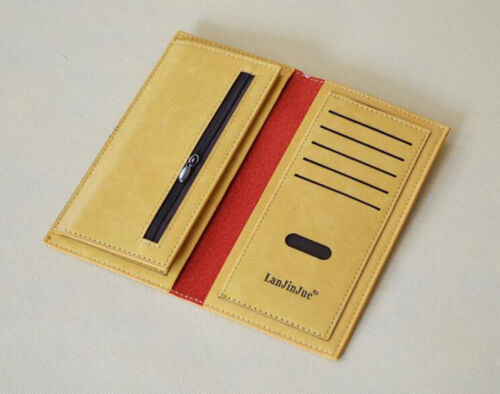 PBJ  Women/'s lady Faux Leather Bowknot Clutch Wallet Long Card Purse Handbag uk