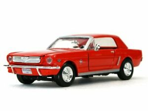 FORD Mustang - 1964 1/2 - red - MotorMax 1:24