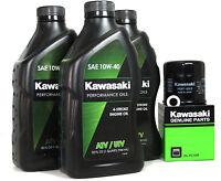 2006 Kawasaki Prairie 360 4x4 Hardwoods Green Hd Oil Change Kit