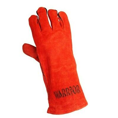 """Warrior Workwear 01PK11WRSC Sup Welding Gauntlet Glove Size 10/"""" RED x 6 PAIRS"""