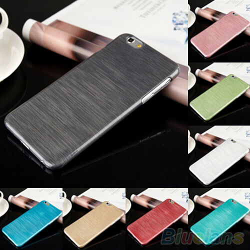 Ultra Thin Brushed PC Skin Hard Back Case Cover For iPhone 6 4.7'' Plus 5.5''