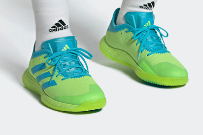 adidas Adizero FastCourt Men's Handball Shoes Green Sport Sneakers 2020 - FU8385   eBay