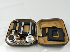 ROLLEI ROLLEIFLEX ROLLEICORD ROLLEIKIN 35MM FILM ADAPTER KIT CASED H