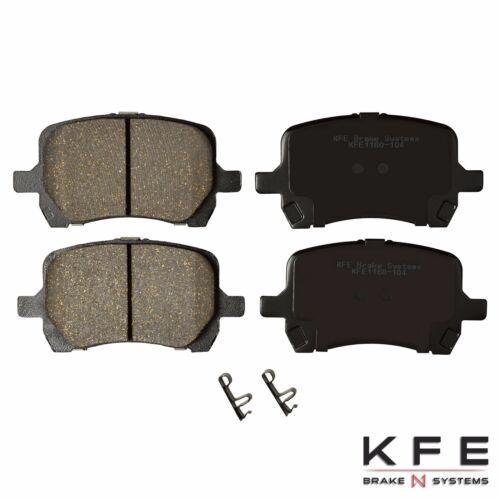 Premium Ceramic Disc Brake Pad FRONT REAR Fits Chevrolet Malibu G6 KFE1160-1033
