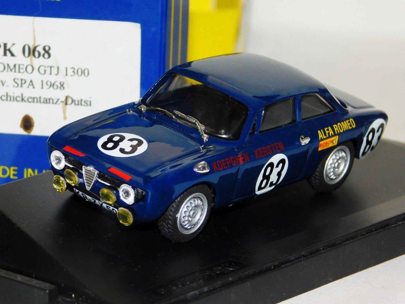ALFA ROMEO GTJ SPA 1968 DIV. DIV. DIV. WINNER PROGETTO PK 068 1 43 dfc7ff