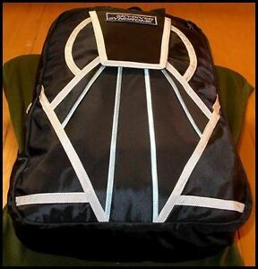 Skydiver-Syndrome-Backpack-Parachute-Mini-Container-Rig-Gym-Book-Bag-Black-S12